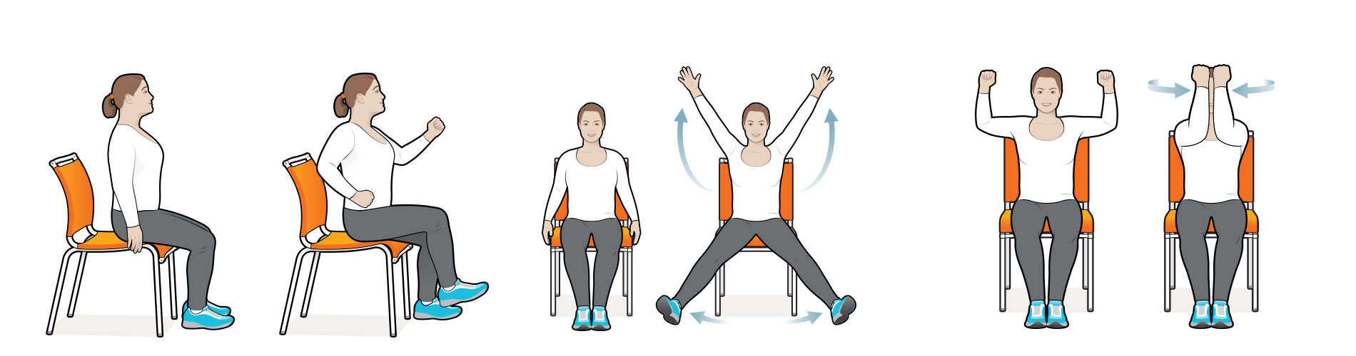Stretching clipart light exercise. Moves you can