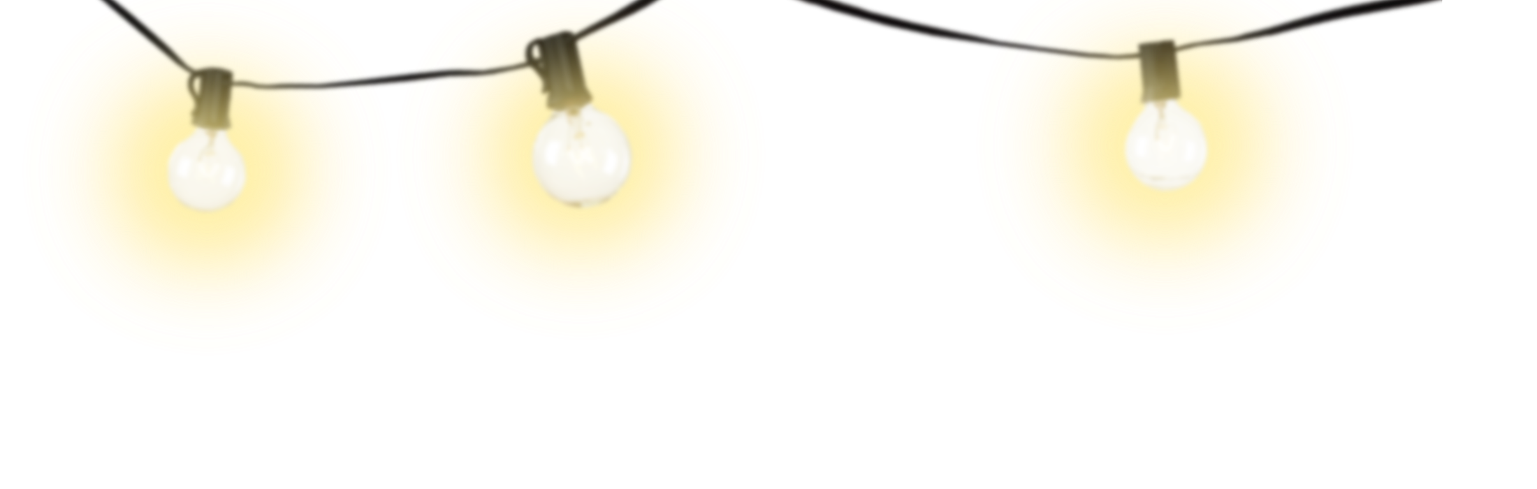 String lights png transparent. Collection of clipart