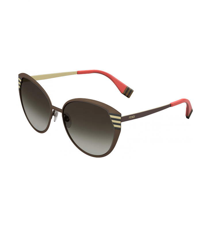Striped vector sunglasses. Pequin sunglassesmulticolor cat eye