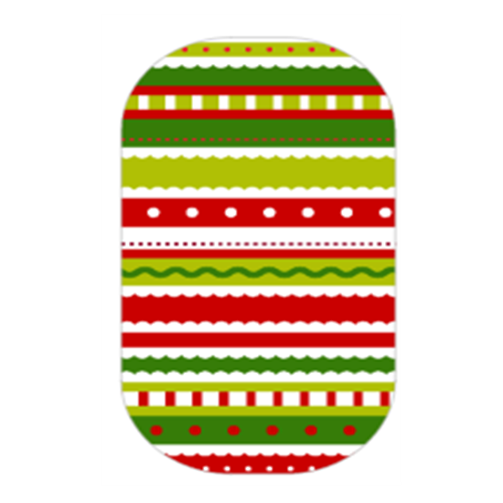 Stripes transparent christmas. Jamberry