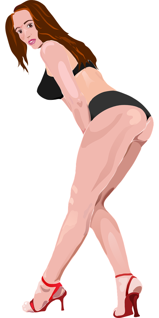 Stripper girl png. A sprinkling of agua