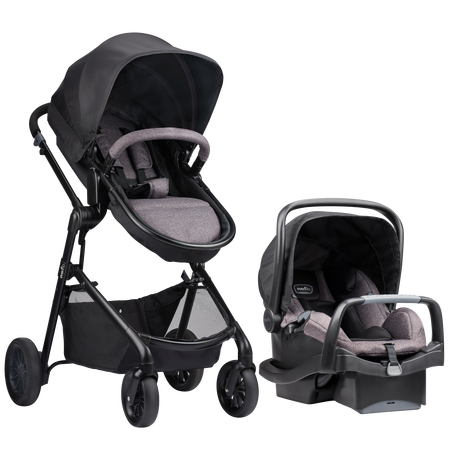Stroller clip fort. Pivot travel system evenflo