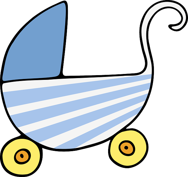 Stroller clip mickey. Free image on pixabay