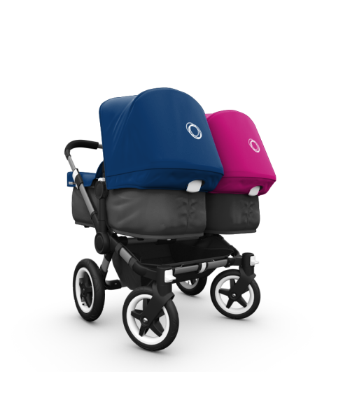 Stroller clip ppb. Twin boy and girl