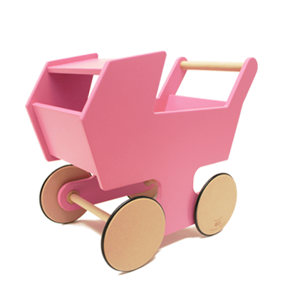Stroller clip toy. This eco friendly wooden