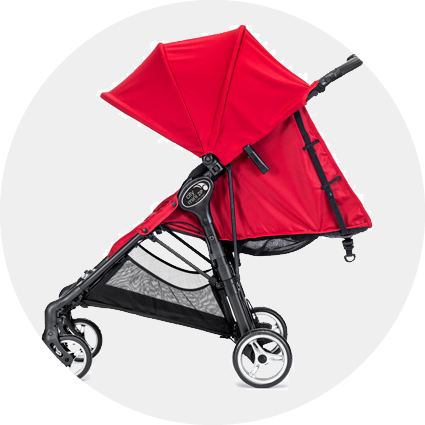 Stroller clip umbrella. Baby jogger city mini