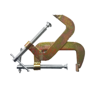 Strong clip clamp. Wood fixture f g