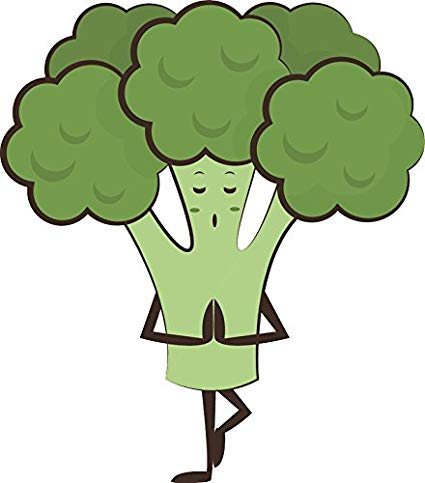 Strong clipart broccoli. Amazon com happy silly