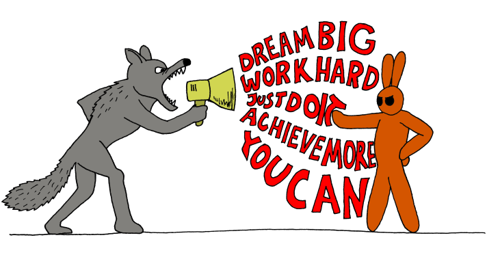 Strong clipart inspiring person. Why the motivation industry