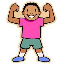strong clipart strong body