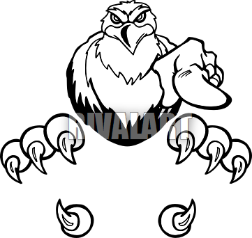 Strong hawk clip art png. Talon with detatched talons