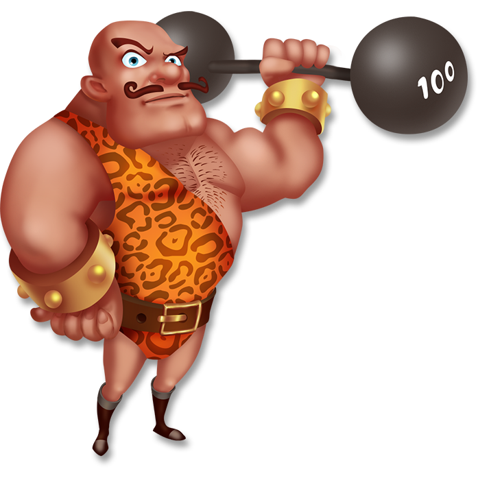 strong man png
