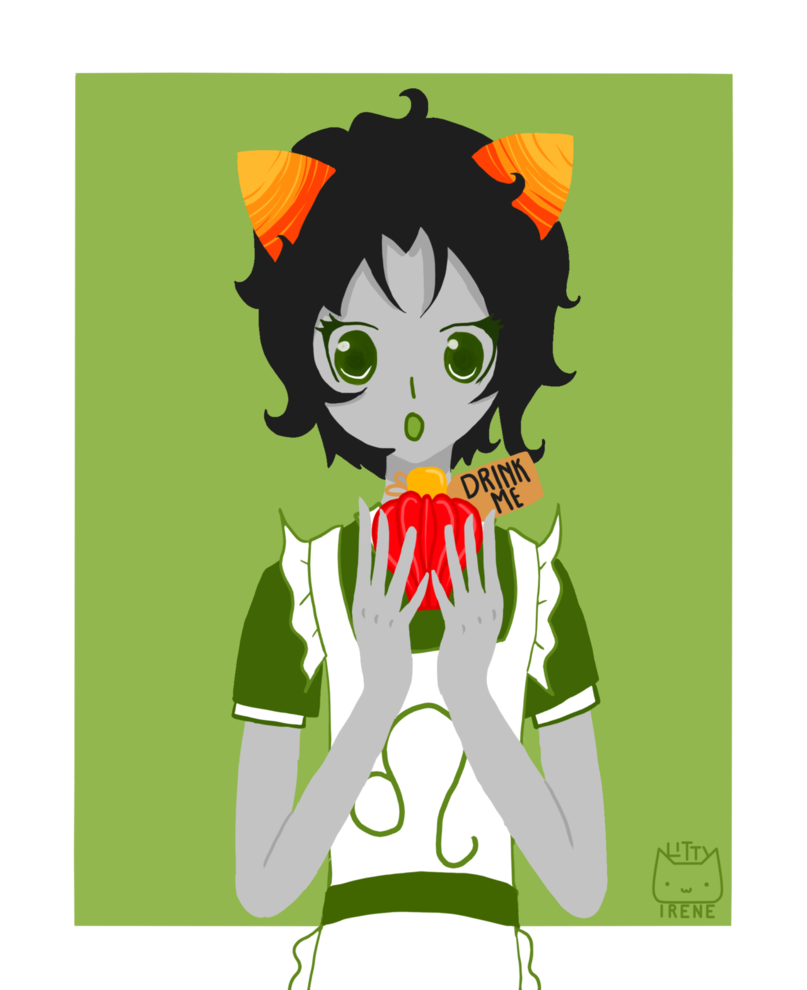 Stuck clip alice in wonderland. Nepeta as by kitty