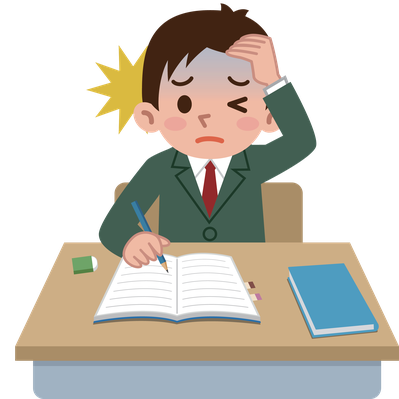 Student cartoon png. Students of depression clipart