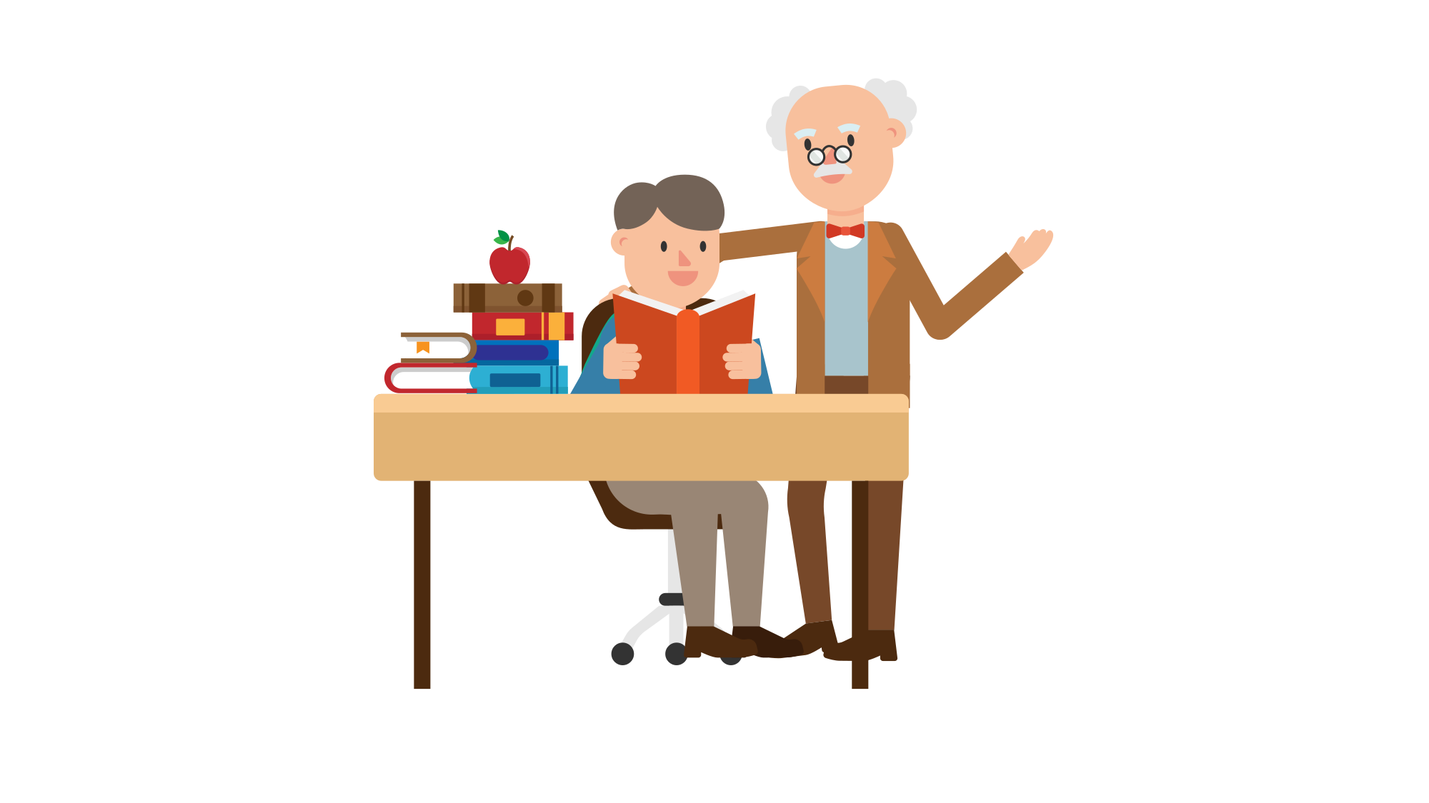 Student cartoon png. File professor teaching a