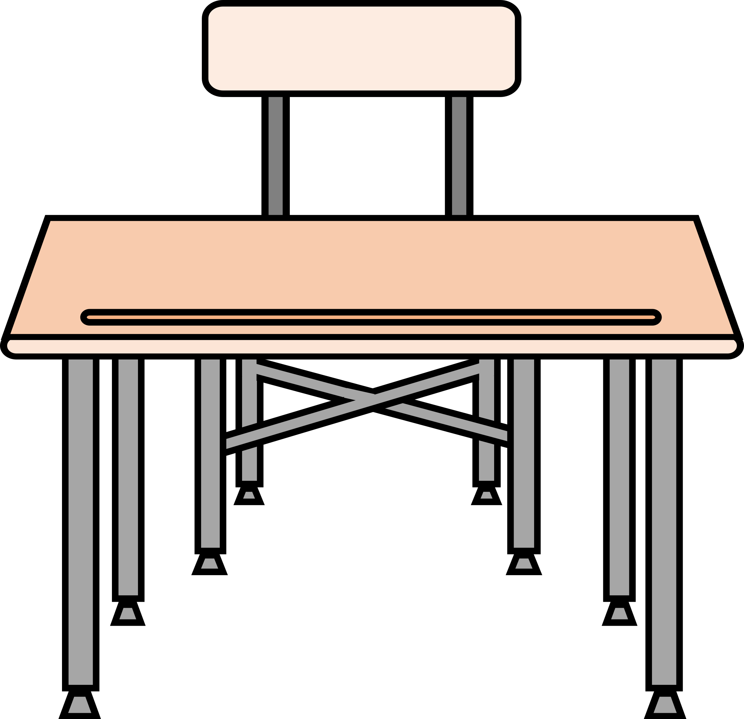 Student desk png. An empty icons free