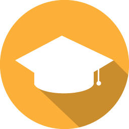 Student icon png. Flat iconset graphicloads