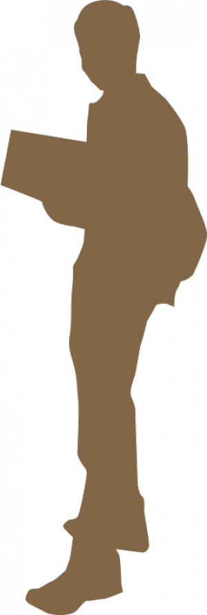 Student silhouette png. College clipart panda free