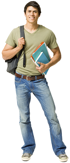 Student with backpack png. Bond university australia north