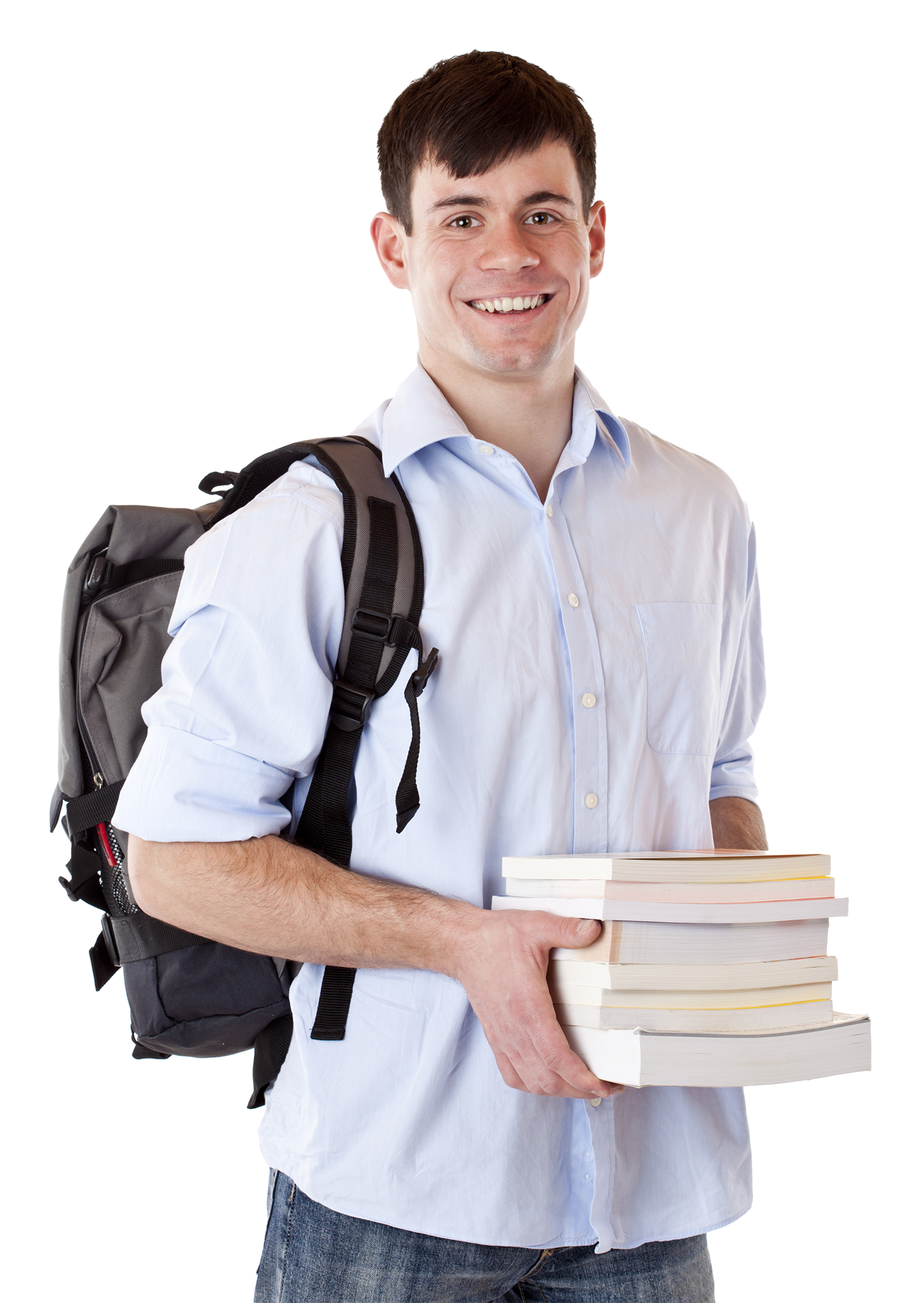 Student with backpack png. Images free download