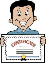 Certificate clipart awarded. Free award ceremony cliparts