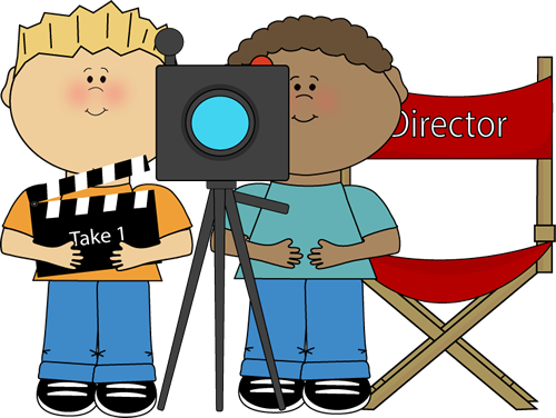 Students clipart file. Movie