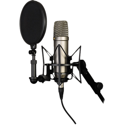 Studio mic png. Rode nt a cardioid