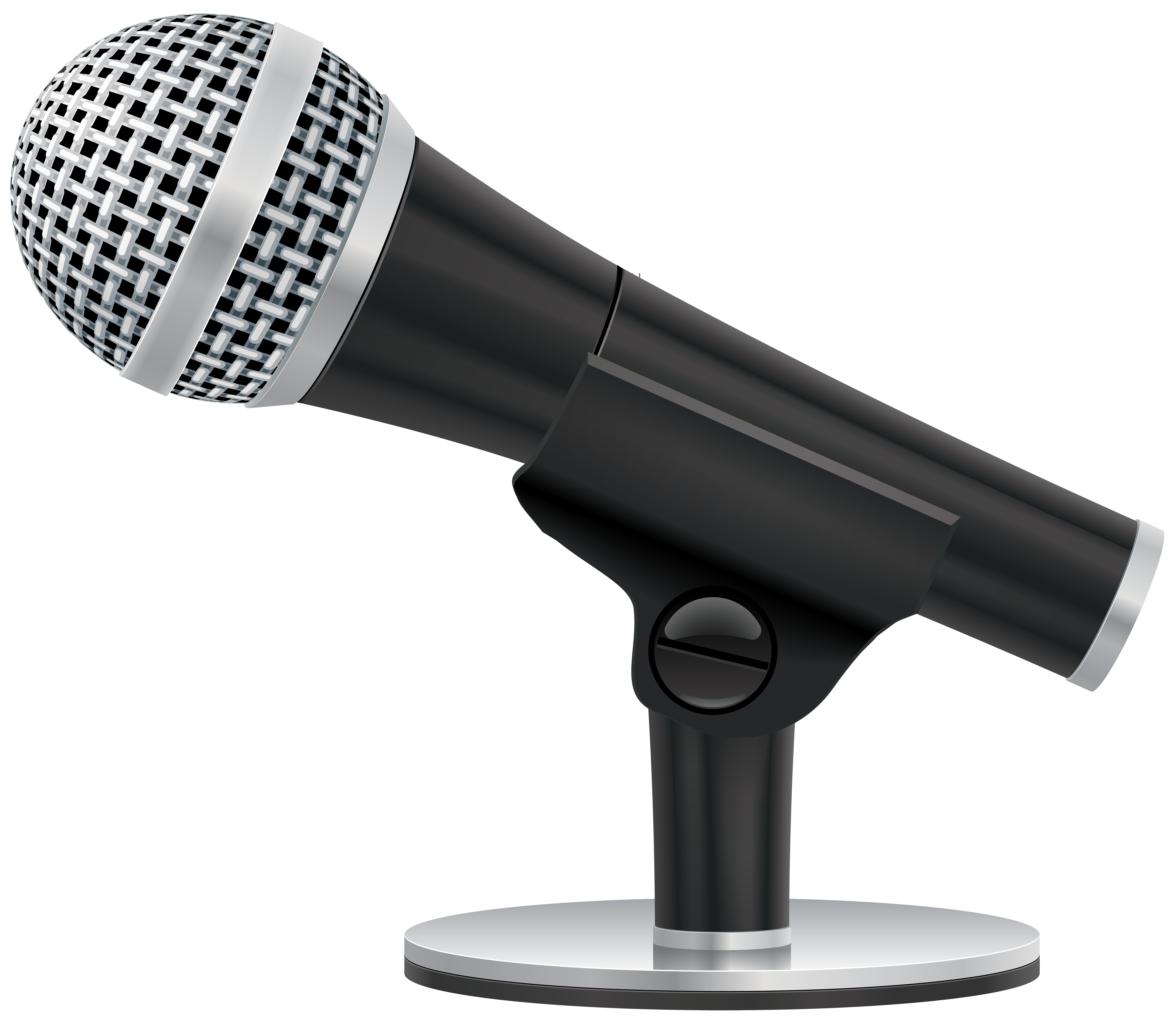 Studio mic png. Microphone clip art image