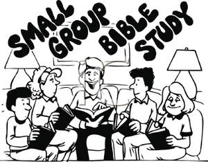 Study clipart study group. People at a bible