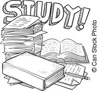 Studying clipart. Illustrations and royalty free svg royalty free stock
