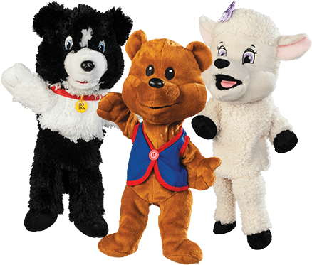 Stuffed animal png. Download awana cubbies puppets