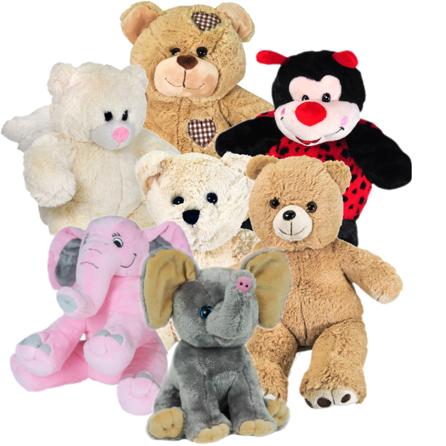 Stuffed animals png. Plush animal urn keepsakes
