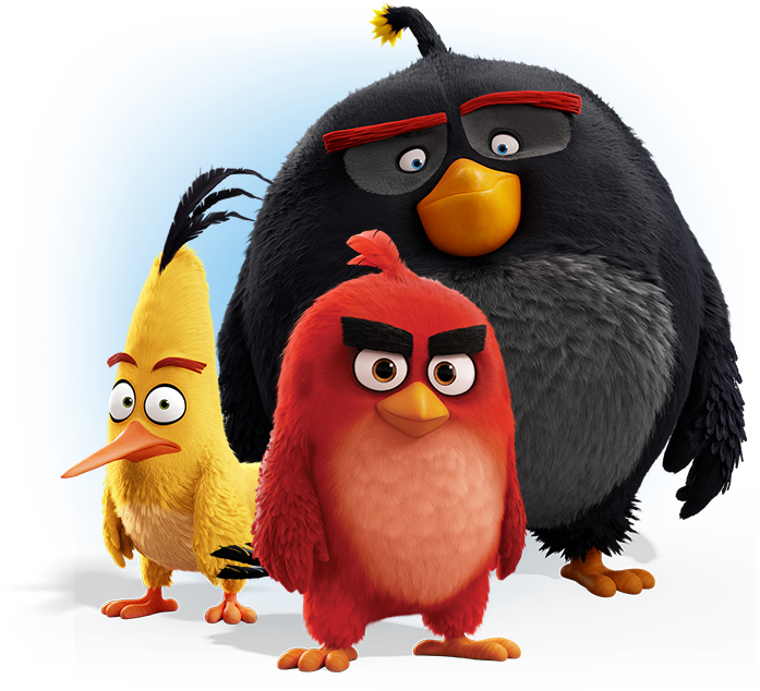 Angry birds movie png. Red chuck and bomb