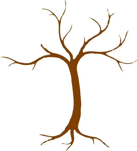 Stump clipart root. Tree black and white