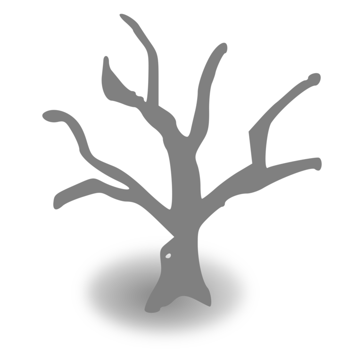 Driftwood vector clipart. Tree branch trunk diagram