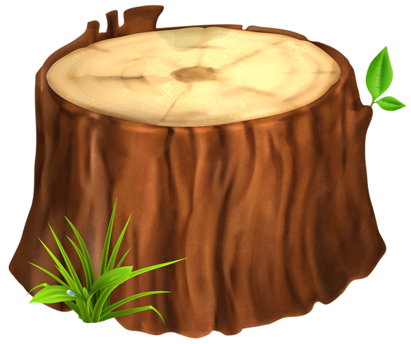 Stump clipart tree cutter. Png image crafts pinterest