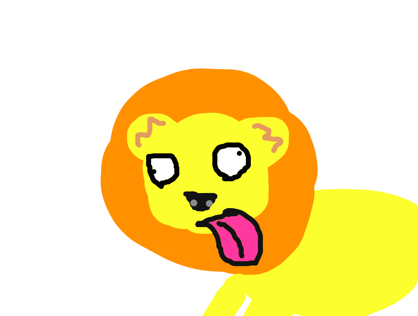 Stupid drawing professional. Forum draw a lion