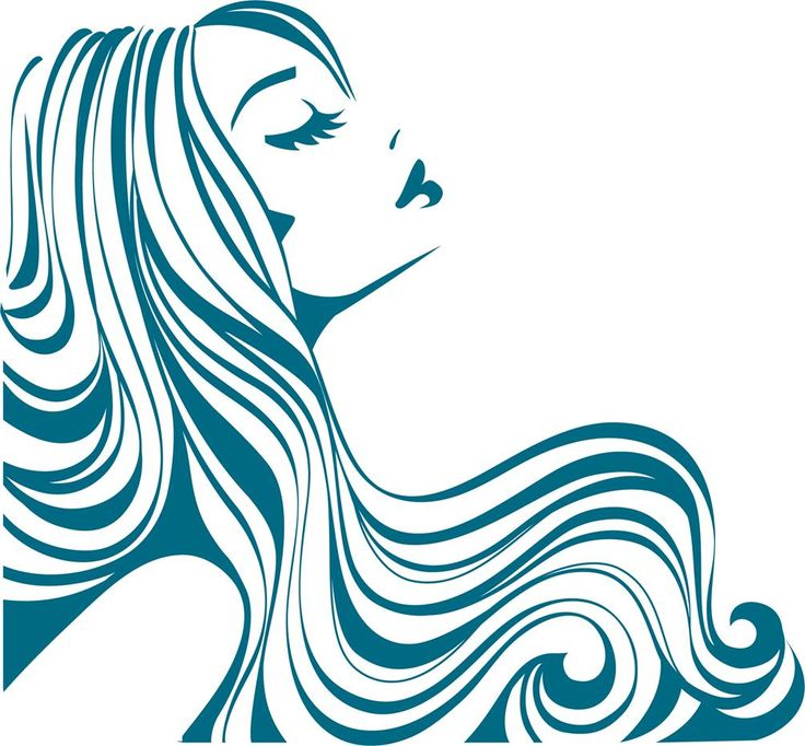 Stylist clipart back hair. Beauty salon at getdrawings