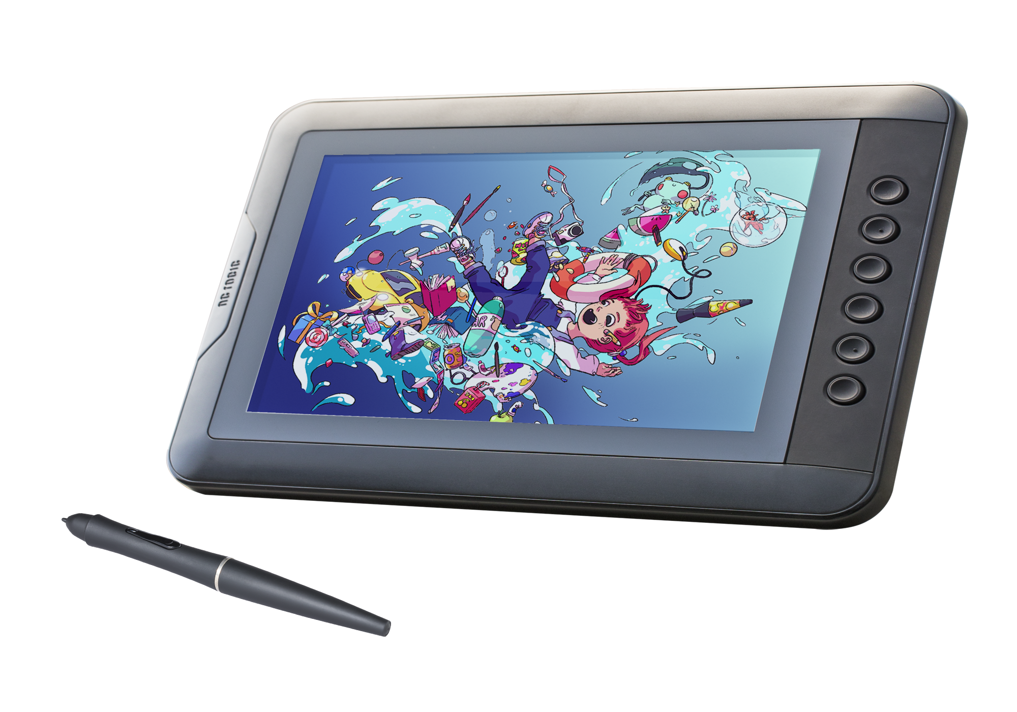 Monitor drawing pc. Artisul d tablet with