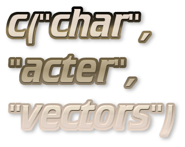 Vector basics. Character exercises r bloggers