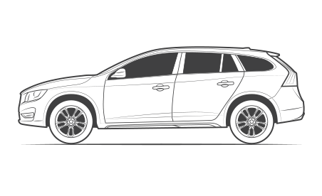 Subaru drawing stance car. What do we mean