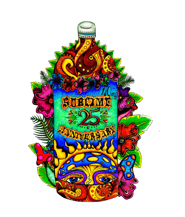 Sublime drawing 40 oz. Th anniversary by snowperson