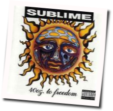 Sublime drawing 40 oz. To freedom guitar tabs