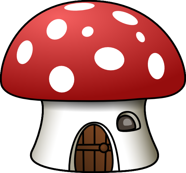 Drawing mushrooms cartoon. Mushroom house at getdrawings