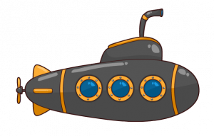 Submarine clipart nautilus submarine. Cartoon free to use
