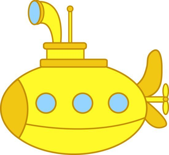 Submarine clipart water clipart. Panda free images vbs
