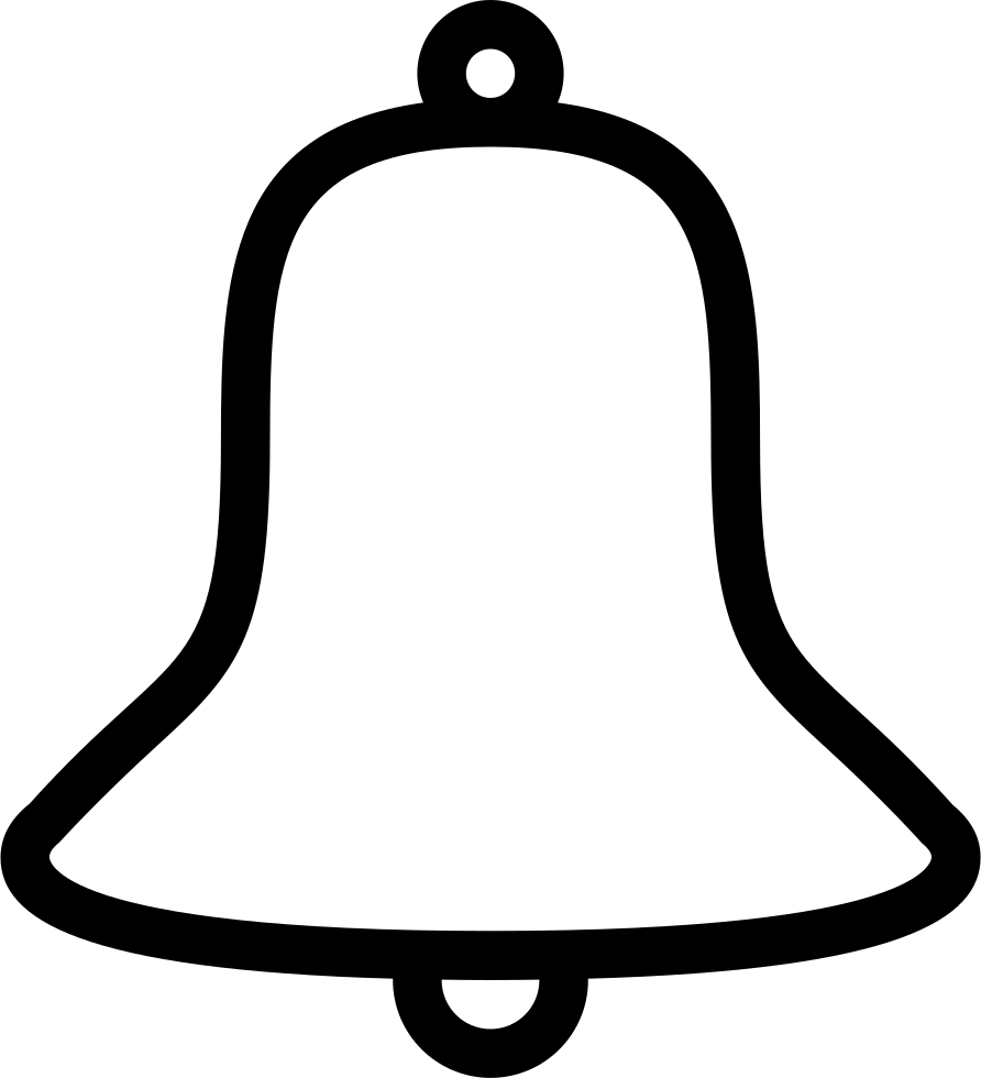 Subscribe bell png. Svg icon free download