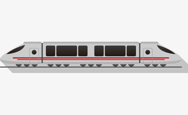 Subway clipart simple train. Modern vector traffic png