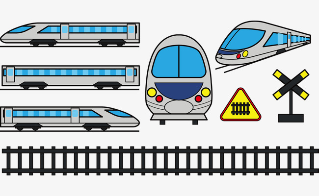 Subway clipart simple train. Vector lovely png and