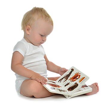 Child reading png. Early learning partnership of